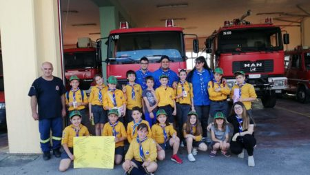 1η Αγέλη Κιλκίς επίσκεψη στην Πυροσβεστική Υπηρεσία και στο Τμήμα Τροχαίας